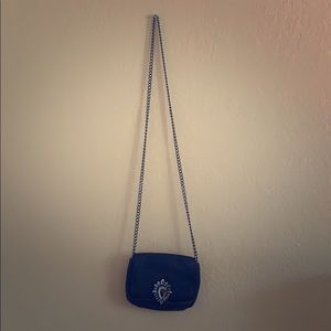 Juicy couture mini chain cross body bag